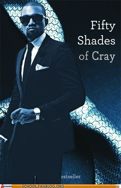 bargain books,fifty shades of grey,that music cray