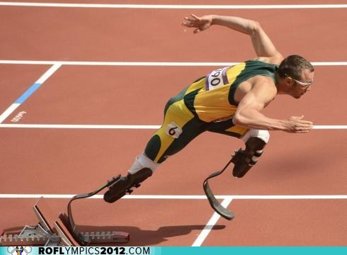 Pistorius Qualifies Out of Prelims