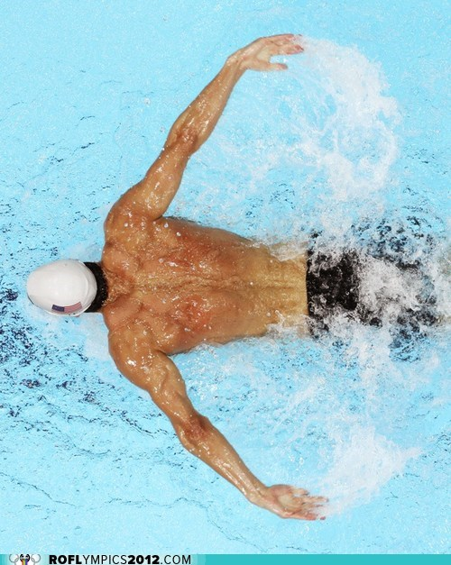 Michael Phelps Ends His Career in Style