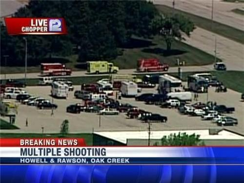 Breaking News: Sikh Temple Shooting