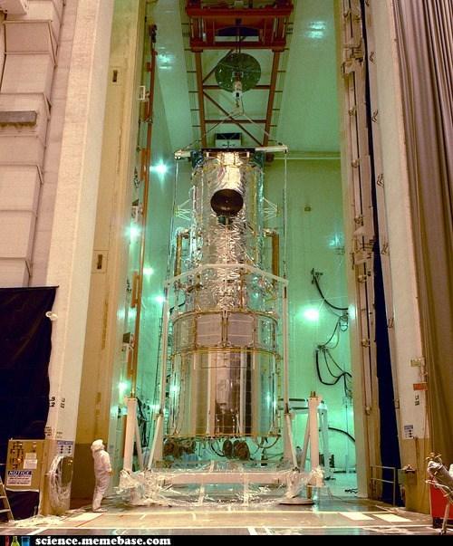 Hubble Telescope Under Construction