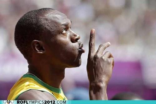 100m,gold medal,justin gatlin,Track & Field,usain bolt,Yohan Blake