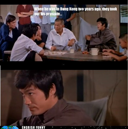 bruce lee,ghost,prostate