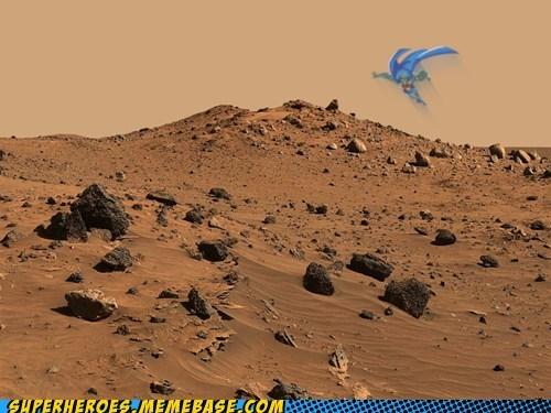 curiosity,Mars,martian man hunter,Super-Lols