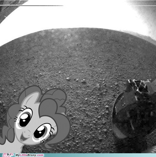 First Image From the Mars Curiosity Rover