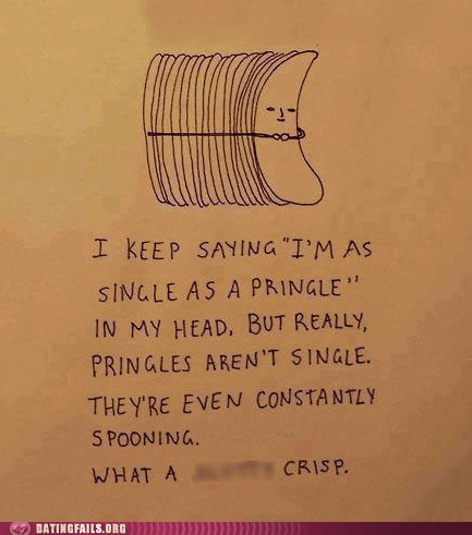 Pringles Make Me Feel Lonely