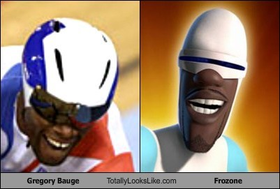 Gregory Bauge Totally Looks Like Frozone (The Incredibles)