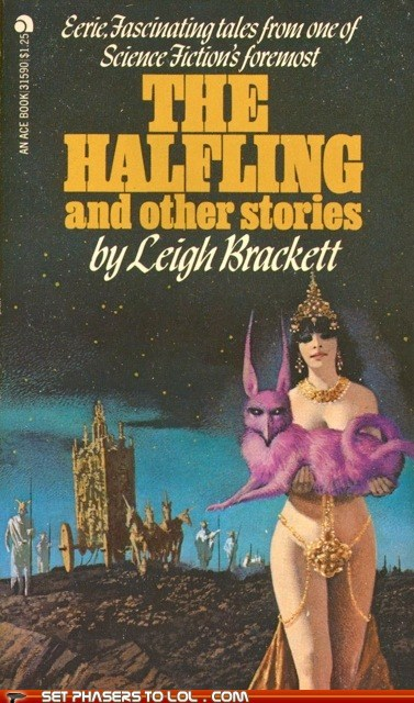 WTF Sci-Fi Book Covers: The Halfling and Other Stories