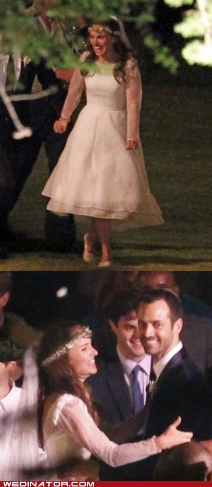 Just Pretty: Natalie Portman Gets Hitched