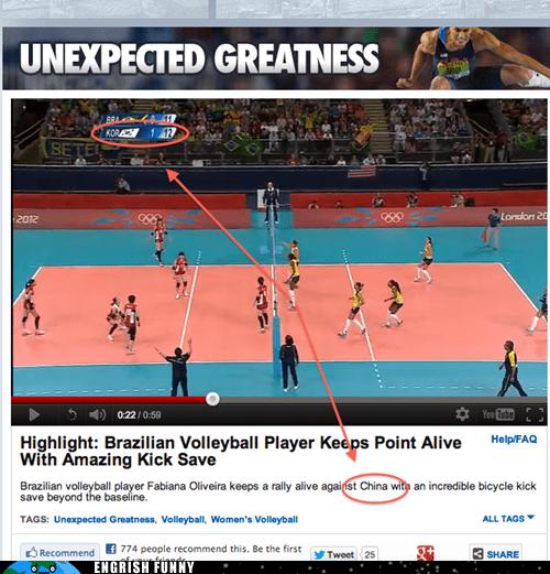 brazil,China,korea,olympics,ROFLympics 2012,south korea,volleyball