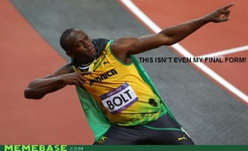It's Usain How Fast He Is