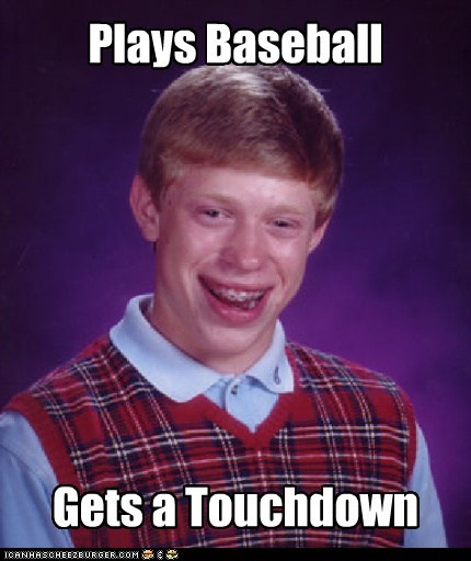 Plays Baseball