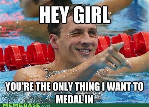 girl,gold,Memes,olympics,swimming