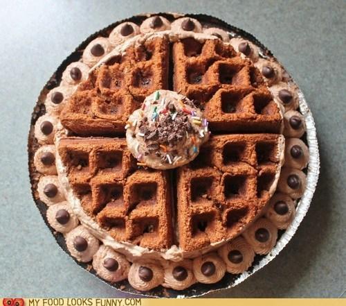 cake,cheesecake,chocoate,overkill,pie,waffles