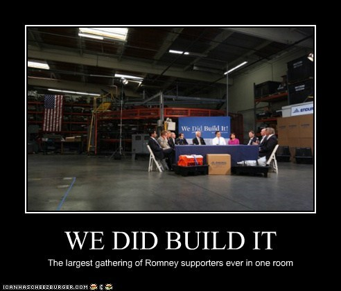 WE DID BUILD IT