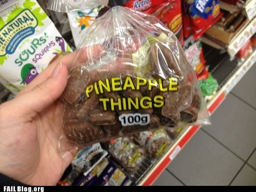 bag,candy,pineapple things
