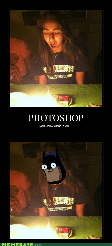 Need Picture? Why Not Batman?