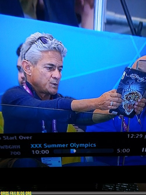Greg Louganis...or, BROganis