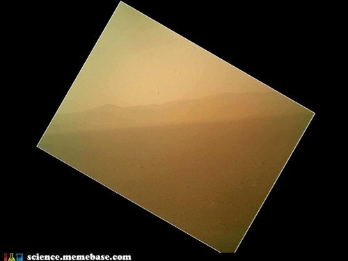 Curiosity's First Color Landscape
