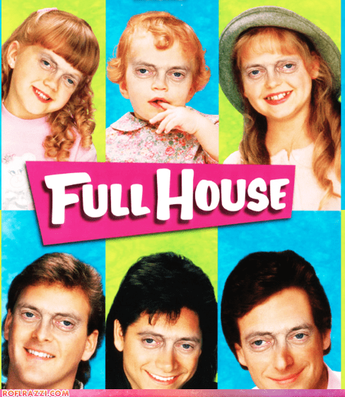"The ""Full House"" Cast With Steve Buscemi Eyes"