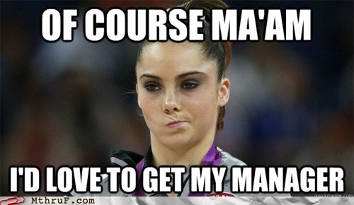 McKayla Maroney Knows That Retail Job Feel