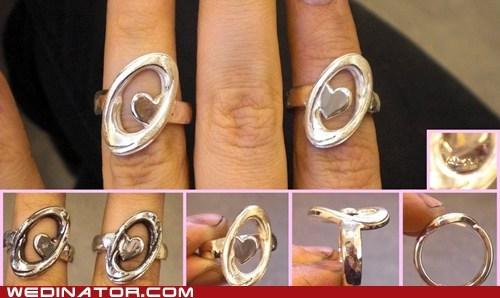 engagement rings,funny wedding photos,geek,Portal,rings,video games,wedding rings