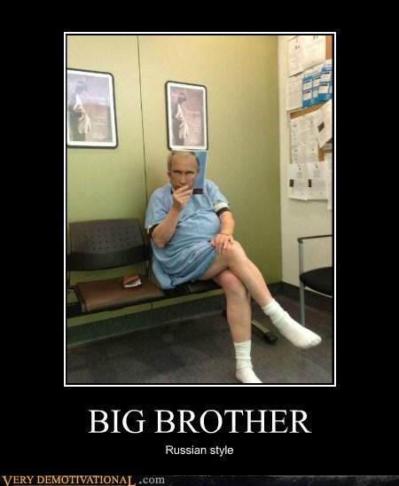 big brother,hilarious,magazine,Putin,russian
