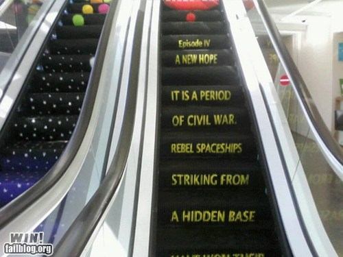 CLASSIC: Escalator WIN