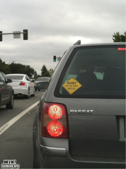 baby,baby on board,bumper sticker,parenting