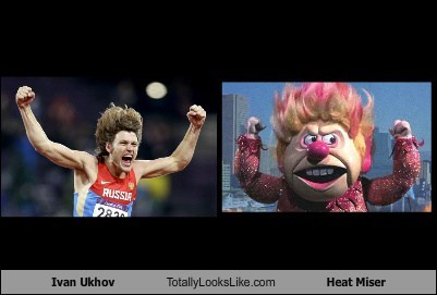 Ivan Ukhov Totally Looks Like Heat Miser