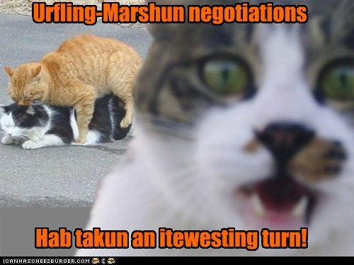 Urfling-Marshun negotiations