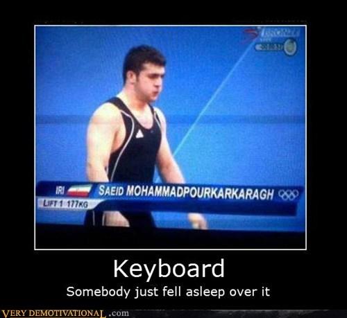 hilarious,keyboard,name,olympics,wrong