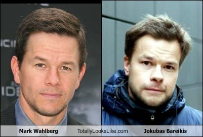 Mark Wahlberg Totally Looks Like Jokubas Bareikis