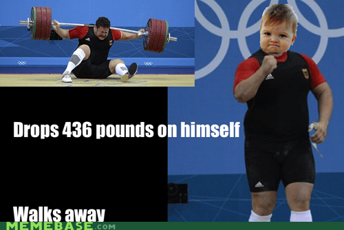 olympics,success kid,walking,weight