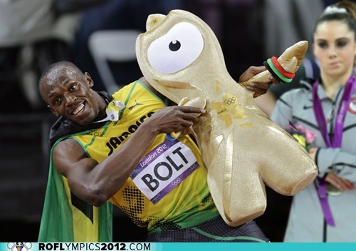 London 2012,mckayla maroney,meme,olympics,usain bolt,wenlock