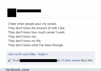 Are You Cereal?