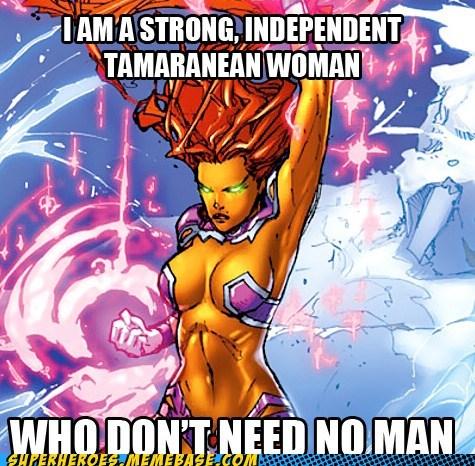 star fire,tamaranean,woman