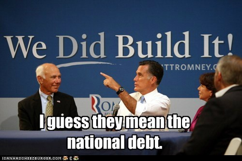 america,debt,economy,Mitt Romney,political pictures,Republicans