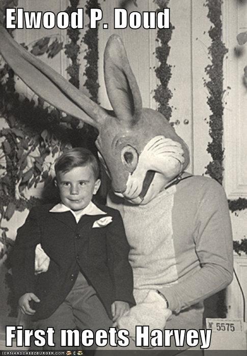 boy,Harvey,kid,rabbit,suit