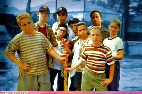 """""""The Sandlot"""" Actors: Then and Now"""
