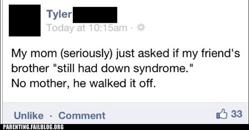 down syndrome,facebook