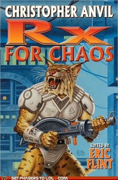 book covers,books,cat,cover art,laser gun,prescriptions,rx,science fiction