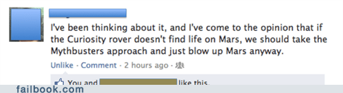 Failbook: Myth Busted
