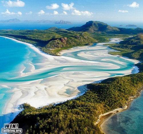 WINcation at Whitehaven Beach, Australia
