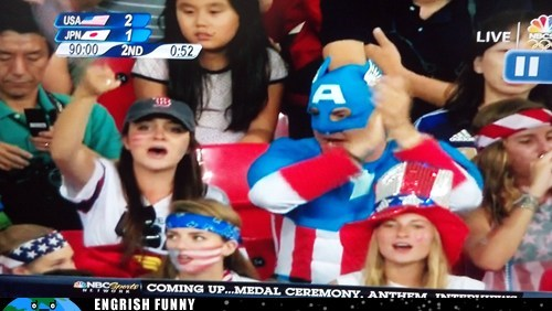 If Captain America is There, How Could We Not Win?