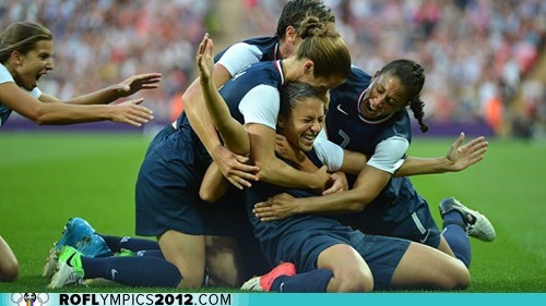 U.S. Women Win Gold in Soccer