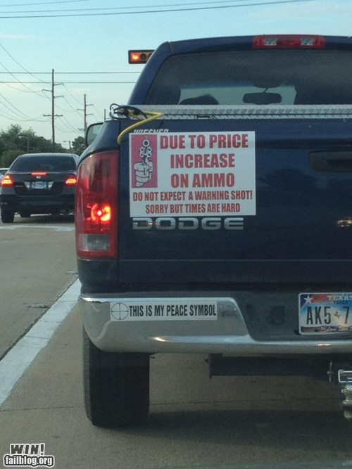 ammo,best of week,bumper sticker,dont-mess-with-texas,gun,Hall of Fame,merica,texas
