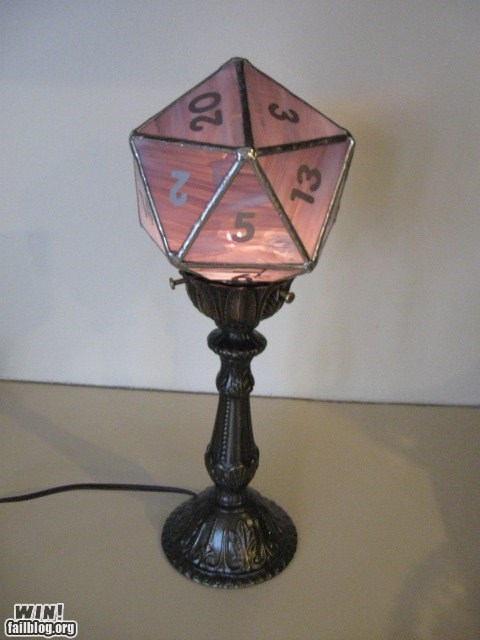 best of week,D20,design,dice,dnd,dungeons and dragons,g rated,Hall of Fame,lamp,nerdgasm,nerdy,win