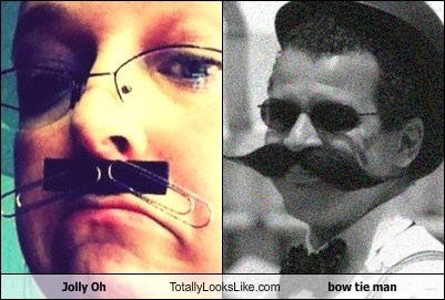 Jolly Oh Totally Looks Like bow tie man