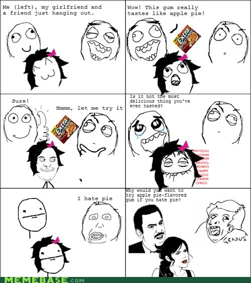 genius,gum,poker face